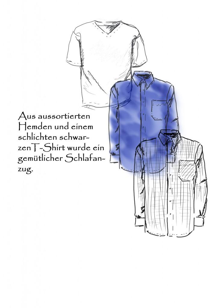 Deckblatt-Schlafanzugweb
